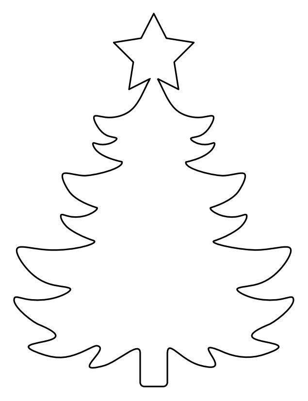 image relating to Christmas Tree Template Printable titled Xmas Tree Drawing Template at  Totally free