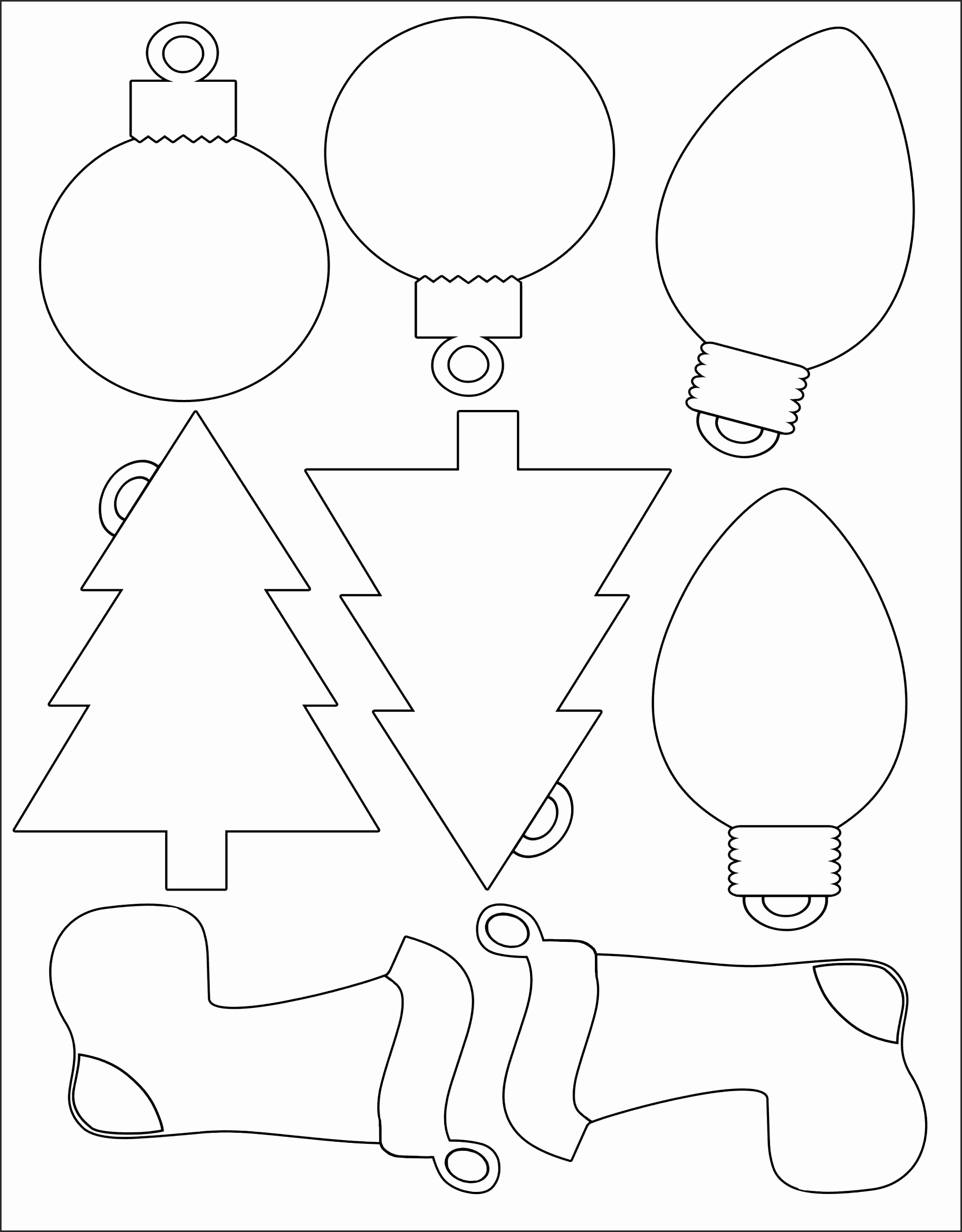 christmas tree drawing template at getdrawings com free for