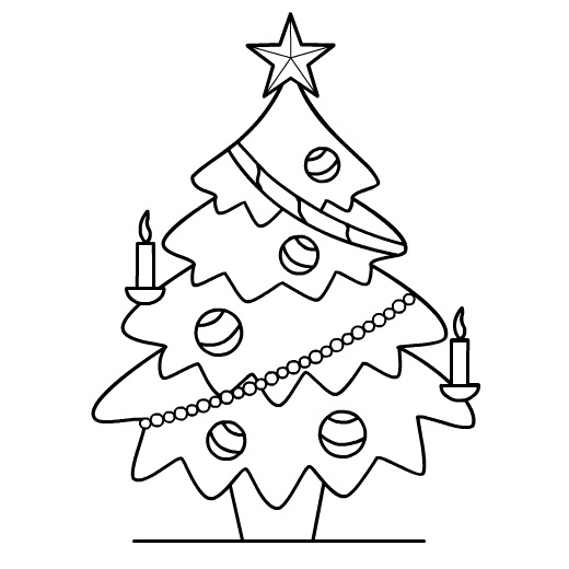 Christmas Tree Images Drawing At Getdrawingscom Free For Personal