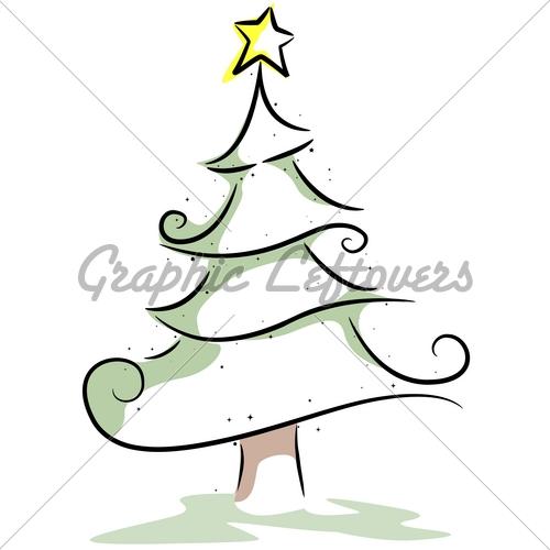 500x500 Christmas Tree Design Gl Stock Images Christmas Tree Drawing
