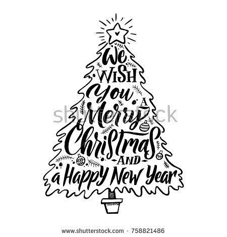 450x470 Tree New Year Drawings Merry Christmas Amp Happy New Year 2018 Quotes