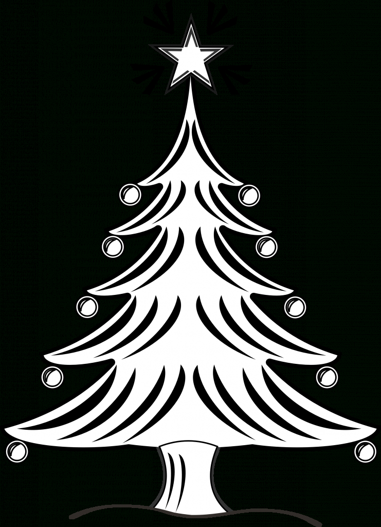 741x1024 Christmas Tree Drawings Christmas Tree Drawing Ideas For Kids
