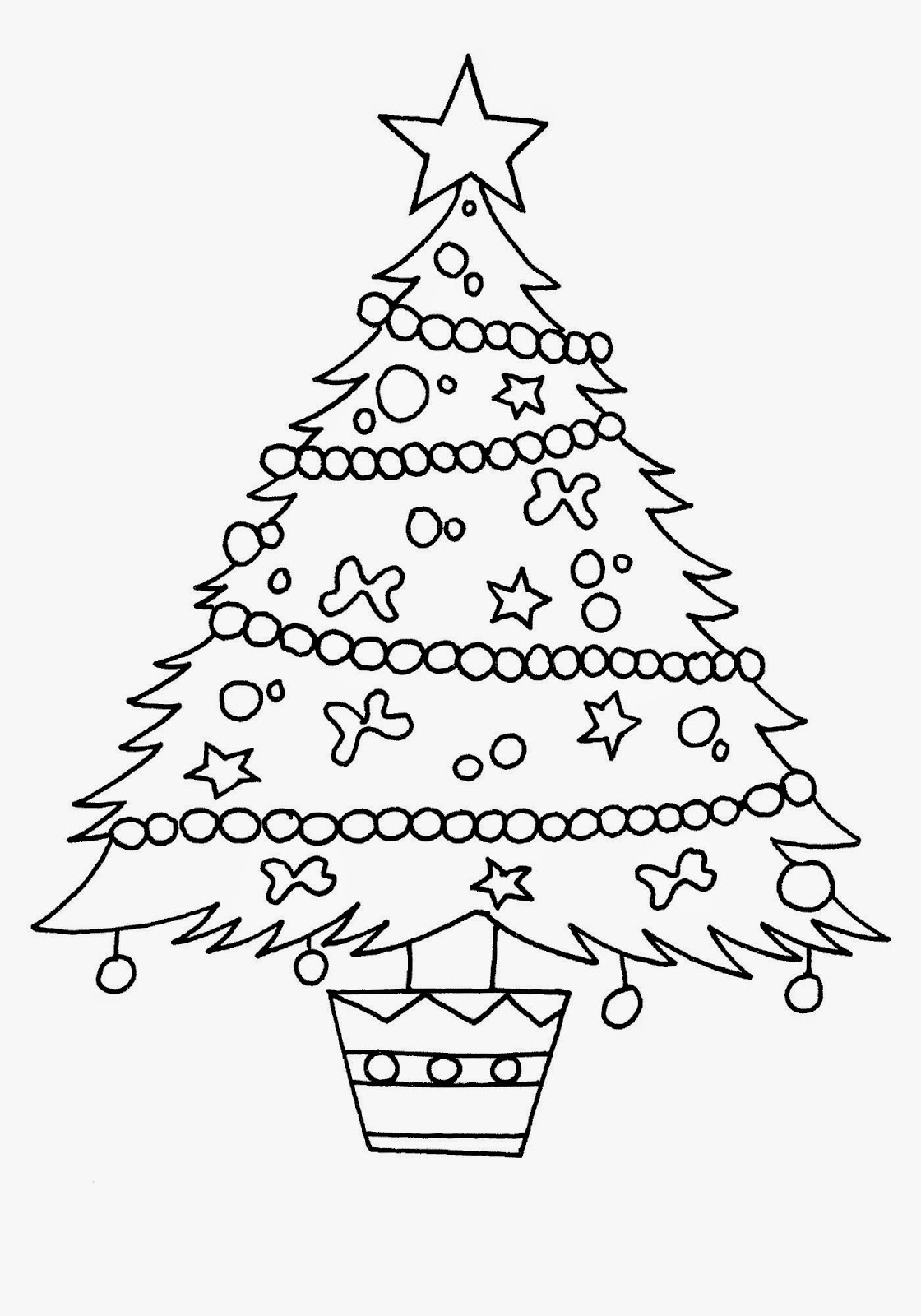 1120x1600 Christmas Tree Sketch Pencil Drawing Christmas Lights Decoration