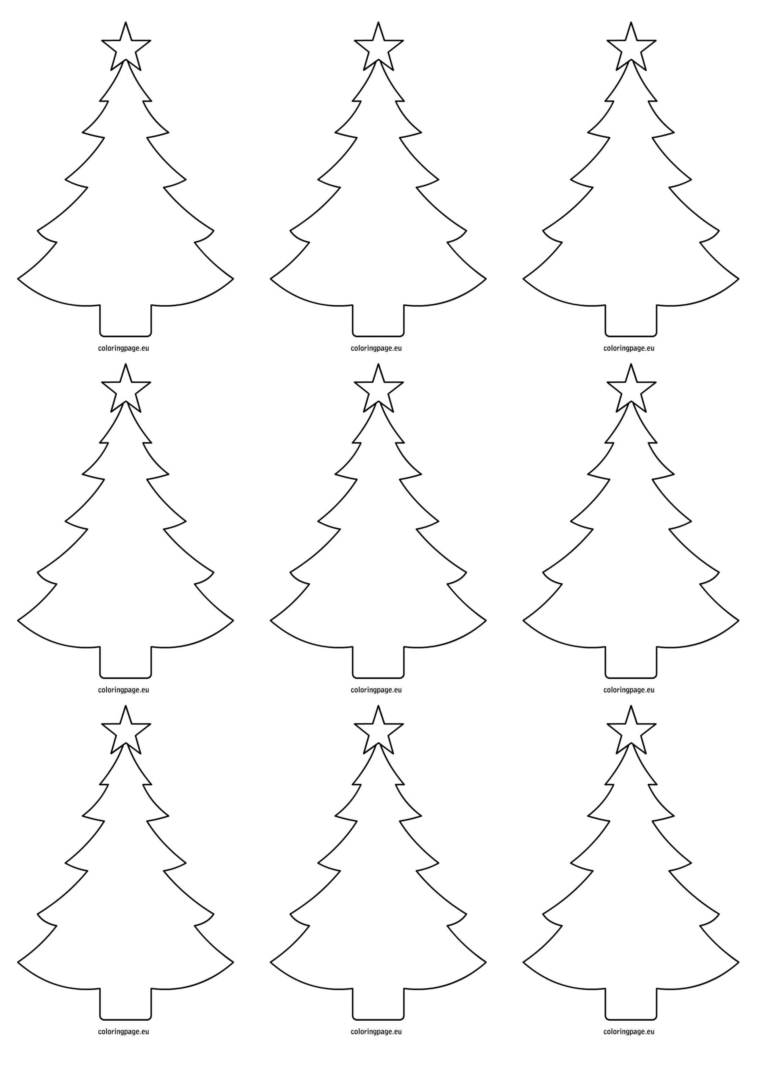 2480x3508 Christmas Tree Paint Sample Tags