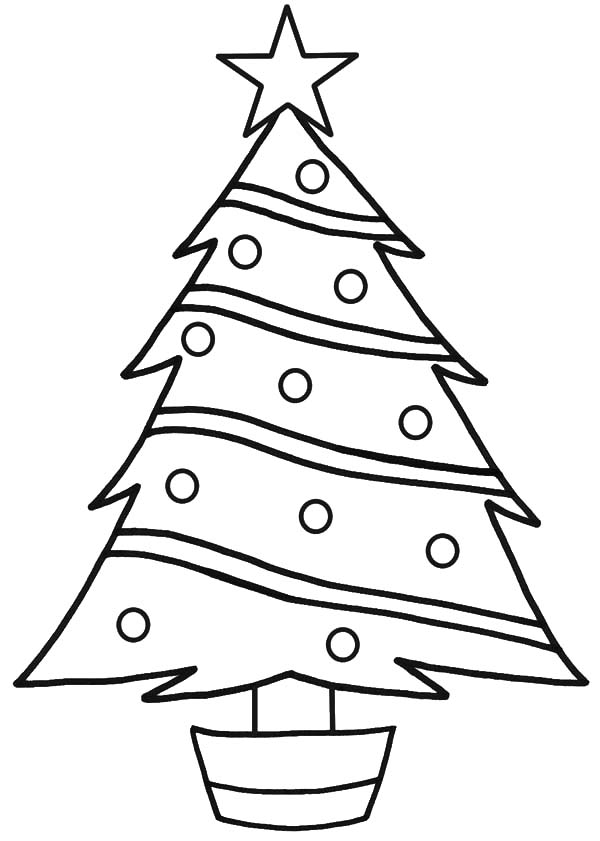 Christmas Tree Star Drawing at GetDrawings.com | Free for personal ...