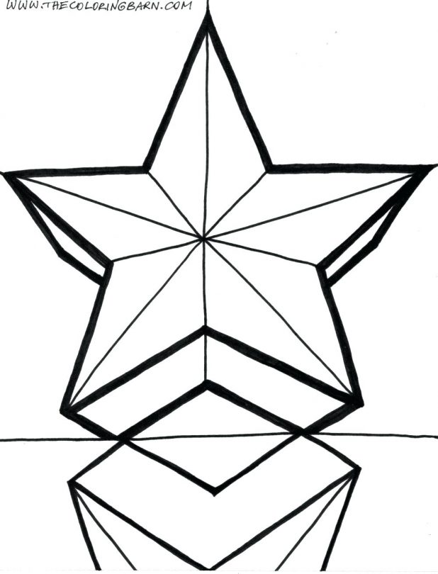 618x810 Christmas Tree Star Coloring Page Articles With Star Wars Coloring