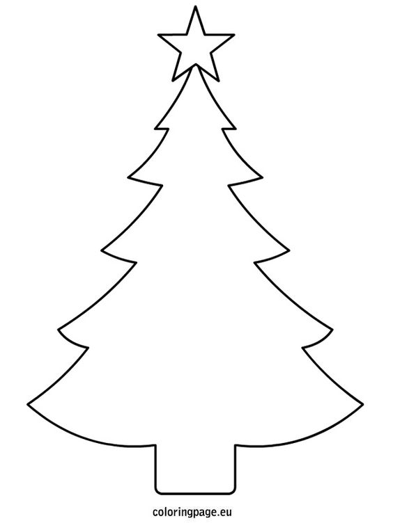564x762 Christmas Tree Star Coloring Page Related Coloring Pagesmerry