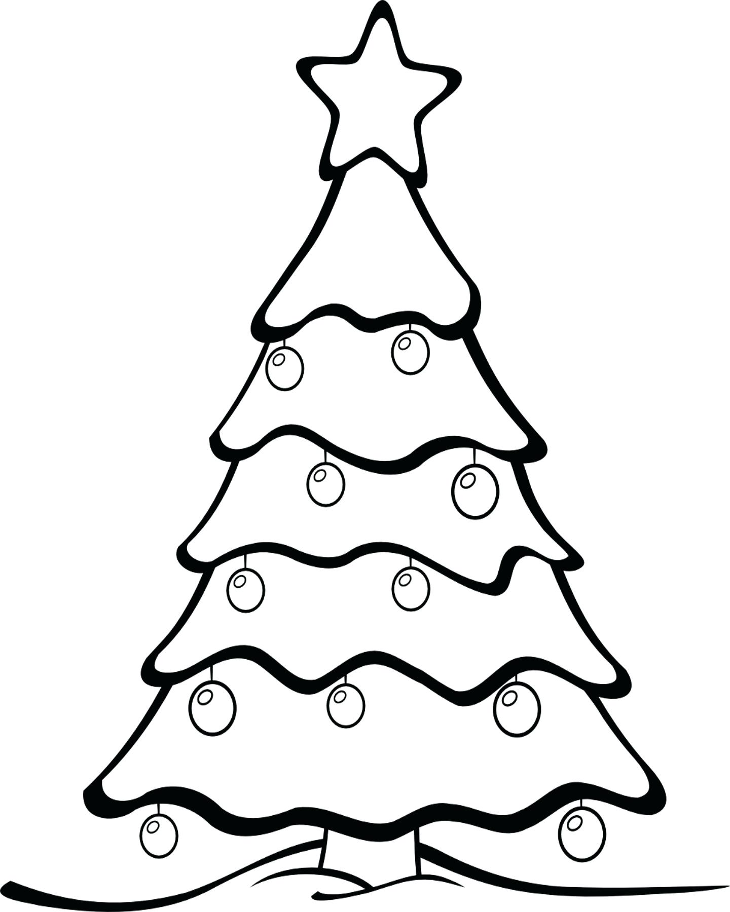 1440x1800 Coloring Coloring Pages Christmas Tree Ornaments Holiday Page