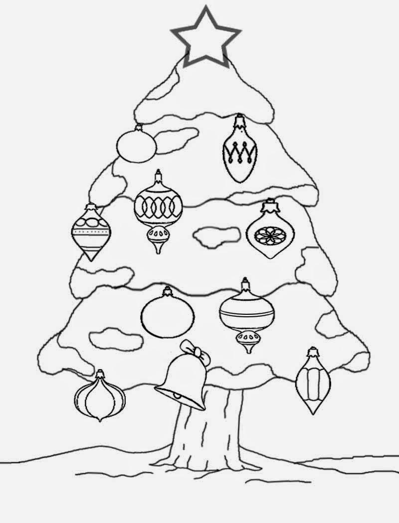 800x1050 Drawn Christmas Ornaments Fun