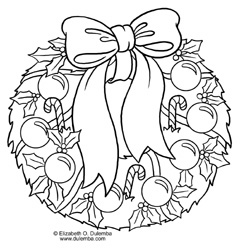 Christmas Wreath Drawing At Getdrawings Com Free For