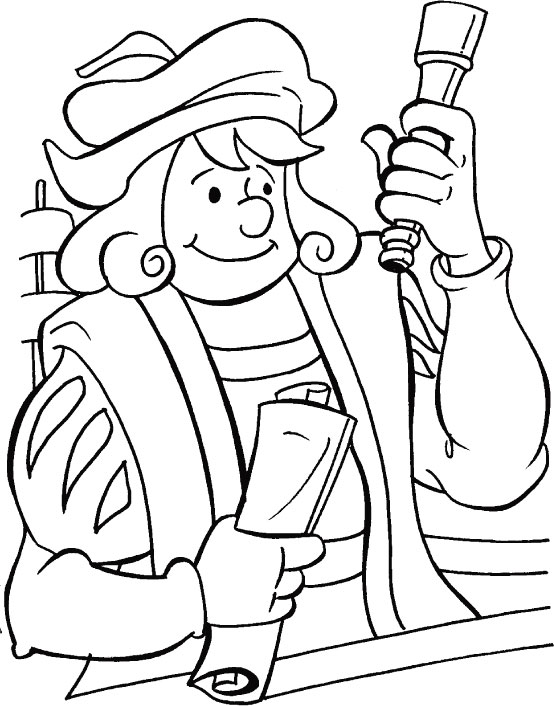 Christopher Columbus Drawing At Getdrawings Com Free For Personal