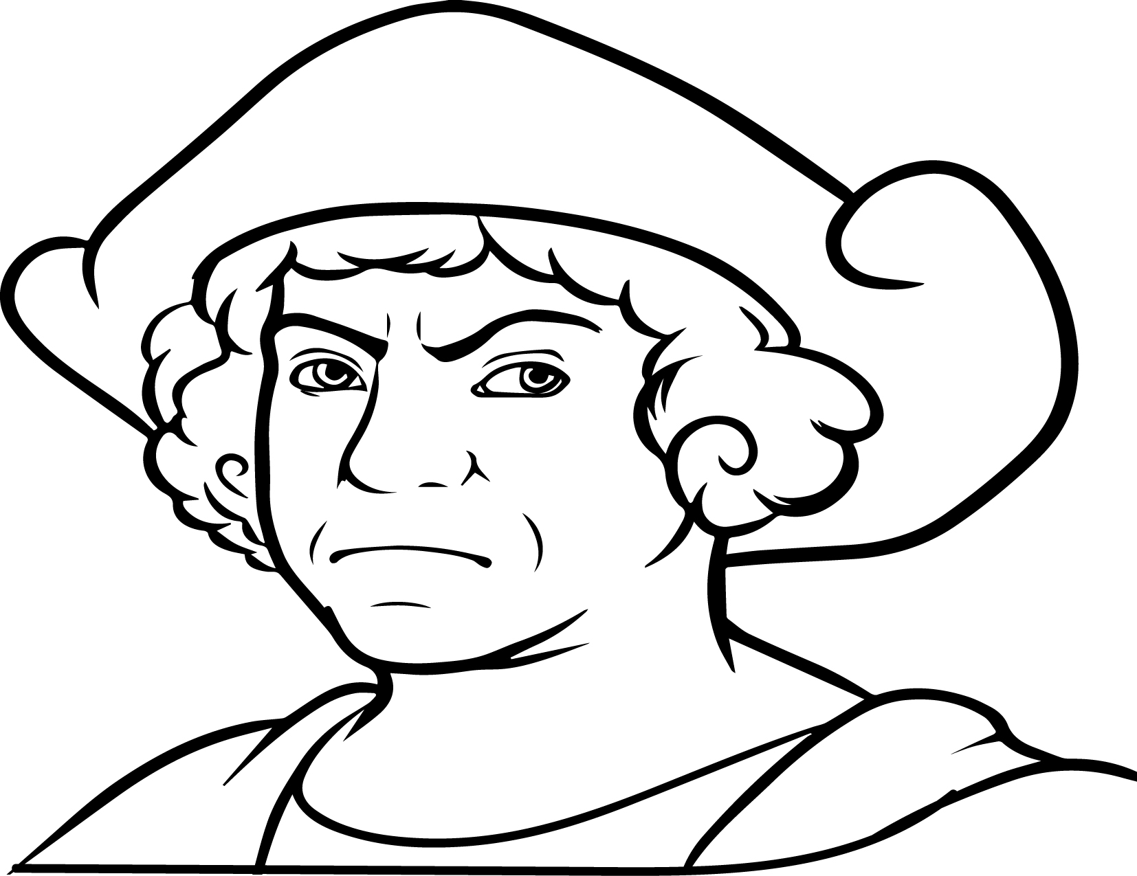 Christopher Columbus Drawing at GetDrawings.com | Free for ...
