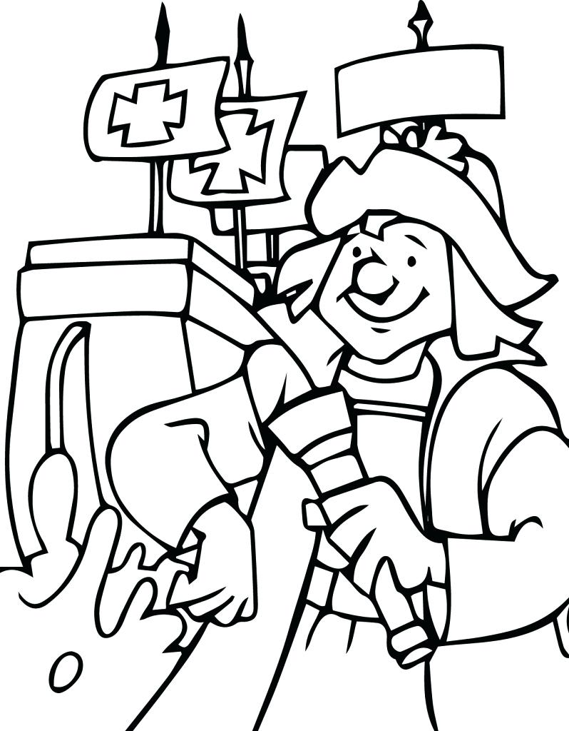 798x1024 Coloring Christopher Columbus Ships Coloring Pages