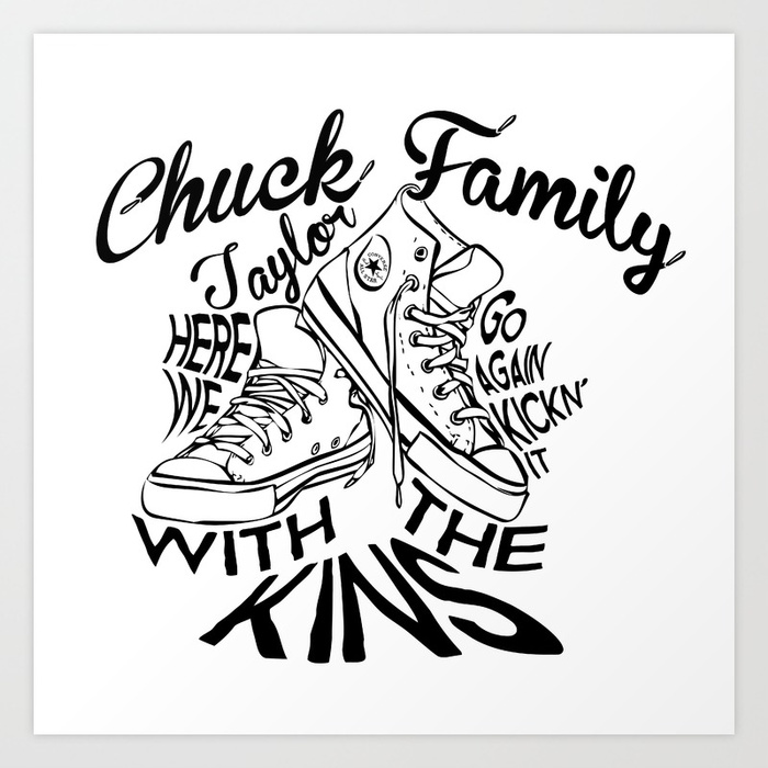 700x700 Chuck Taylor Family Reunion Here We Go Again Kick'N It