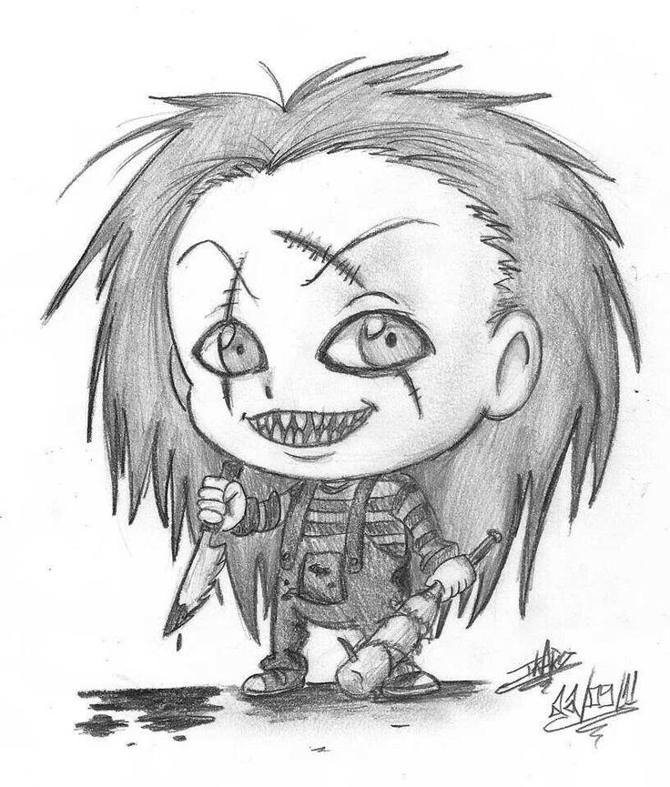 736x865 Chucky Dark Toonsdisney Chucky