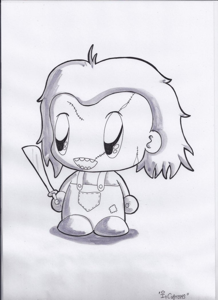 762x1048 Chucky Chibi By Nirvanaatje