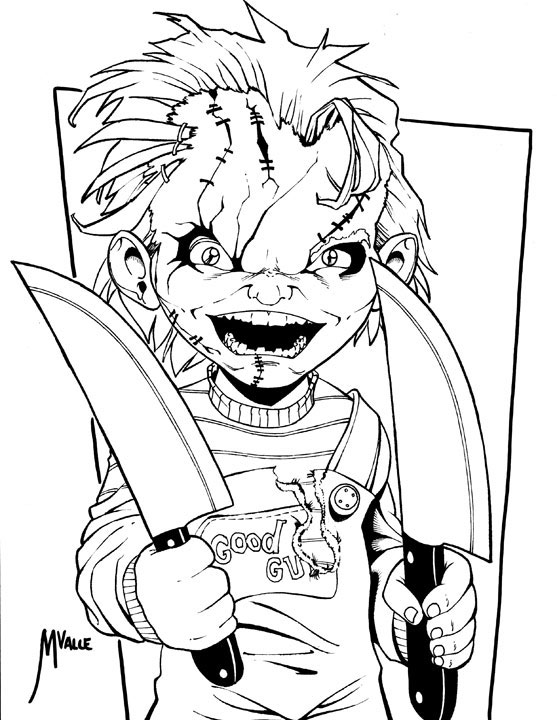 Chucky Drawing at GetDrawings | Free download