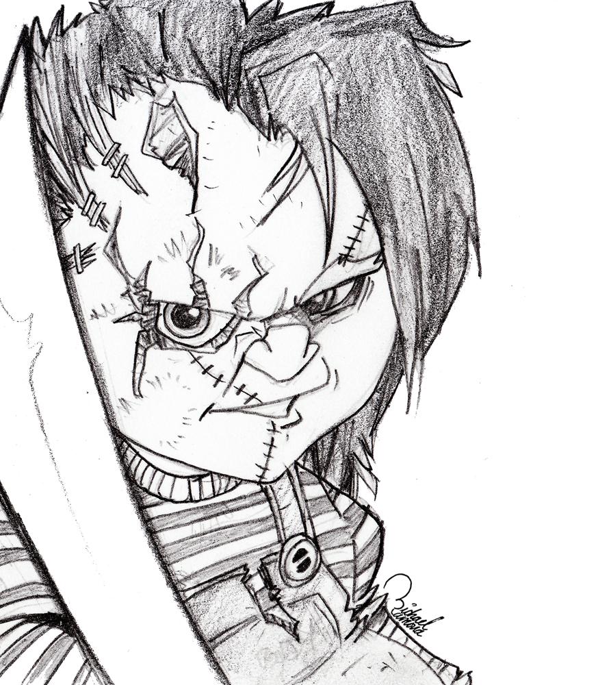 874x1000 Chucky By Ramova