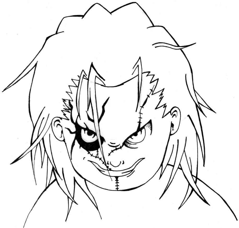 915x874 Chucky By Themondracas