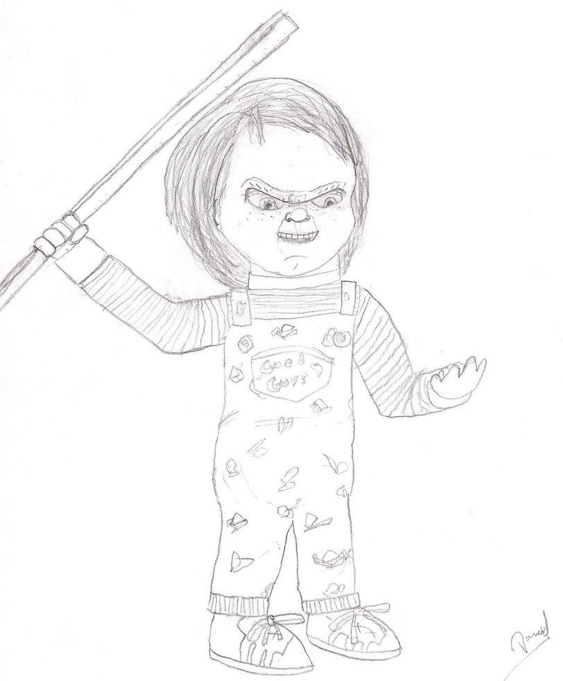 812x983 Chucky The Killer Doll By Nazo0202
