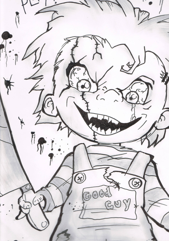 900x1283 Chucky By Chaosdesin