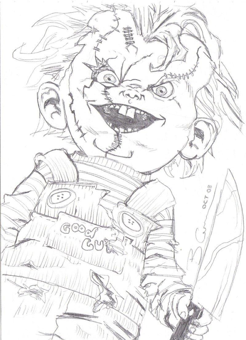 800x1104 Bride Of Chucky By Barrycameron