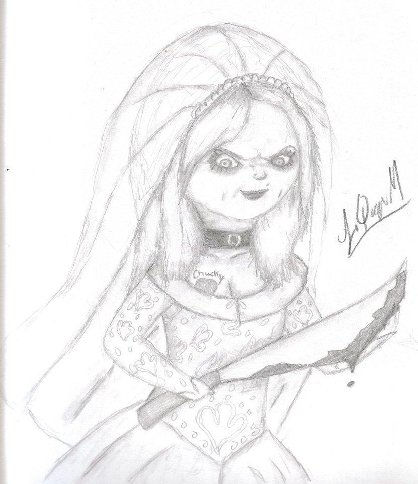 831x961 Chucky's Bride By Laquyn