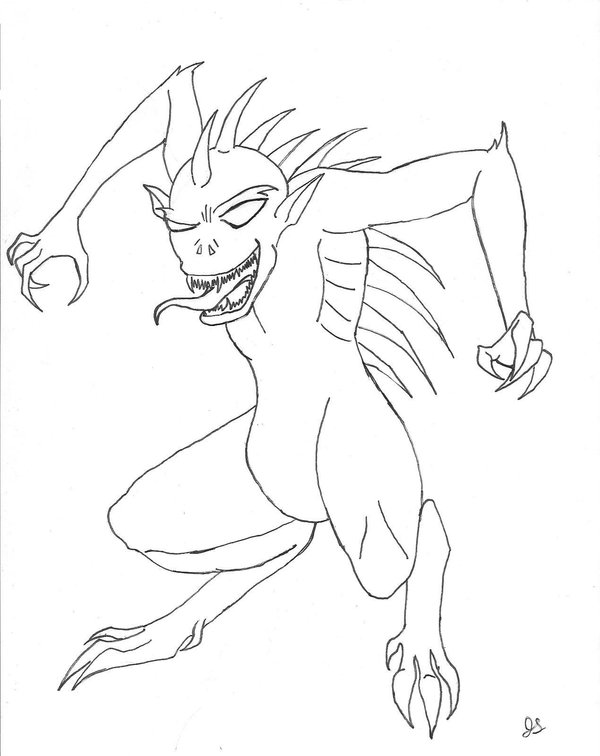 Chupacabra Drawing