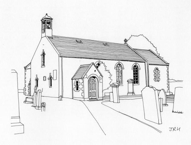 632x481 Morebattle Parish Church