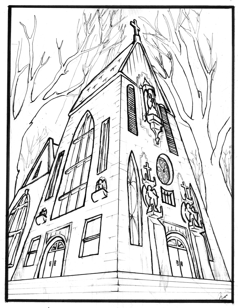 Church Drawing