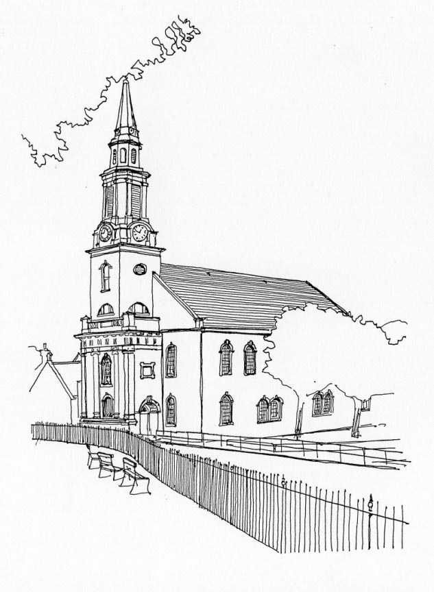 633x864 Banff Parish Church