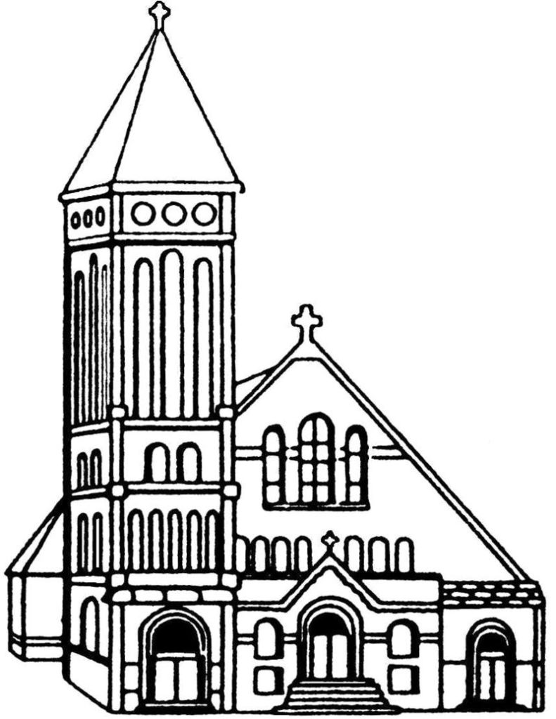 Church Drawing Images