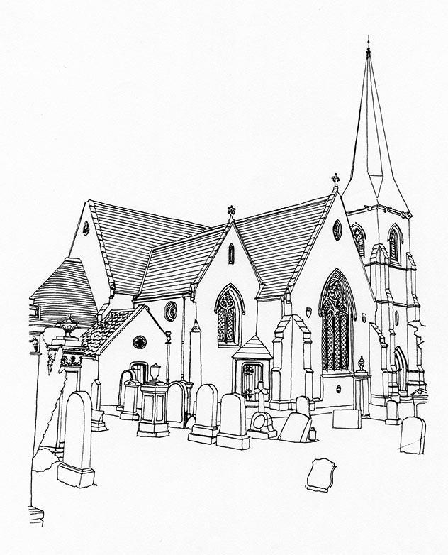 632x782 Borthwick Parish Church