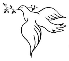 236x211 Gallery For Gt Doves Drawing Church Banners To Make