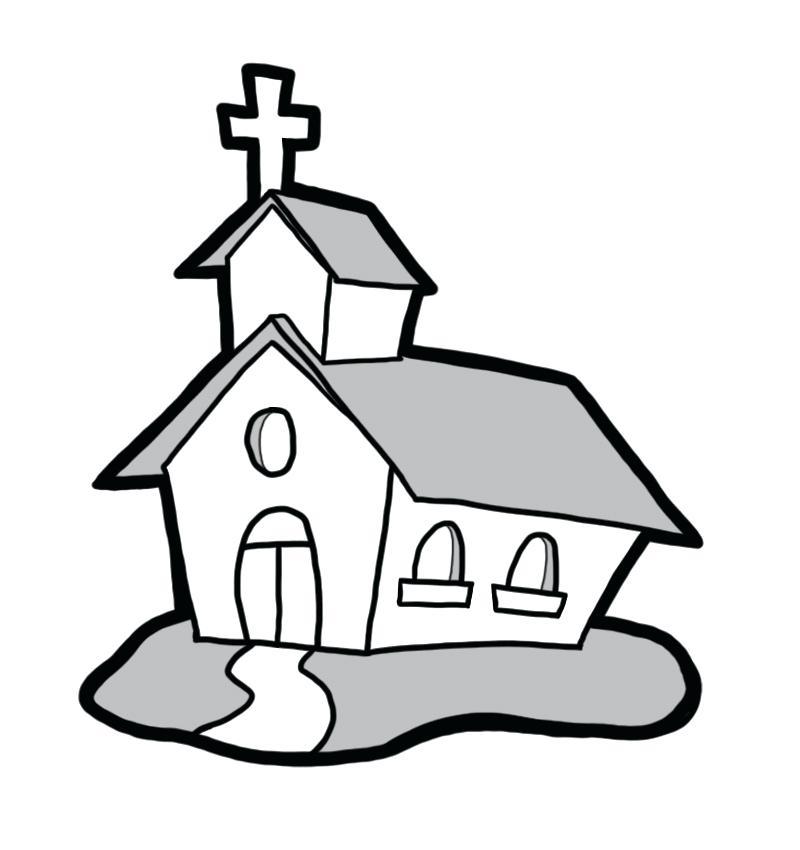 800x850 House Clipart Church House Church Clip Art House Clipart Vector