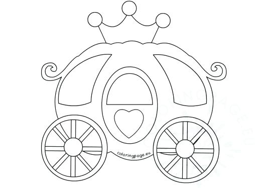 508x374 Carriage Coloring Pages Carriage Coloring Pages Princess Carriage