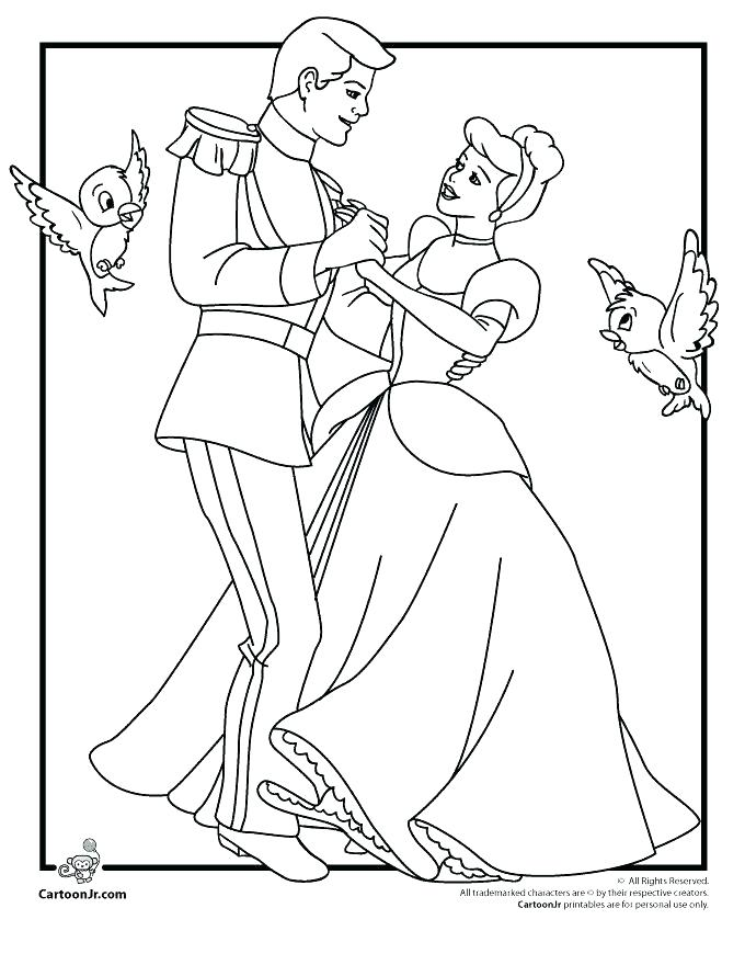 680x880 Cinderella Coloring Pages Coloring Pages For Kids Free Printable