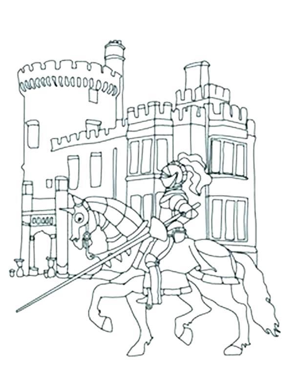 600x773 Disney Castle Coloring Page Genesisar.co
