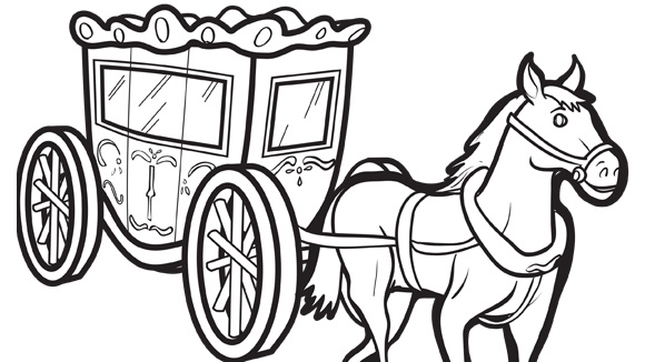 580x326 Carriage Coloring Pages