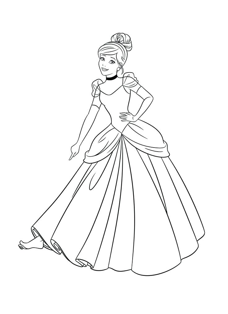 Cinderella Dress Drawing At Getdrawings Com Free For Personal Use