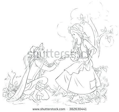 450x426 Glass Slipper Coloring Page Cinderella