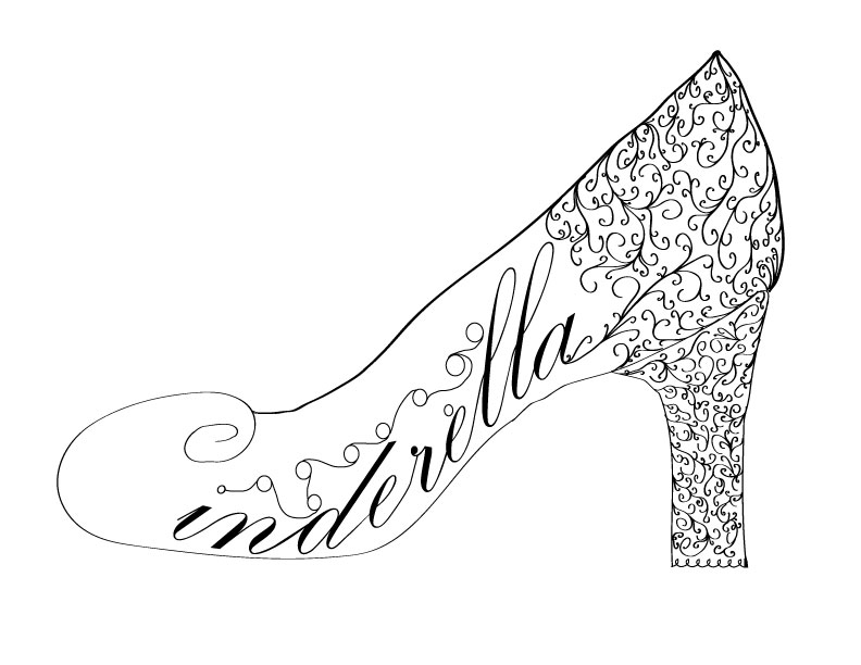 792x612 Glass Slippers