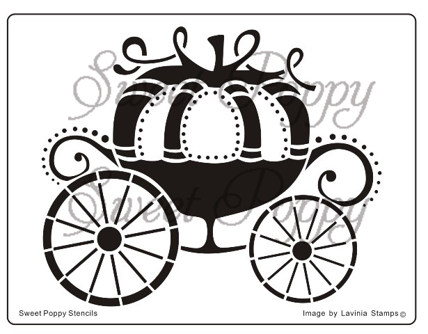 Cinderella Pumpkin Carriage Drawing