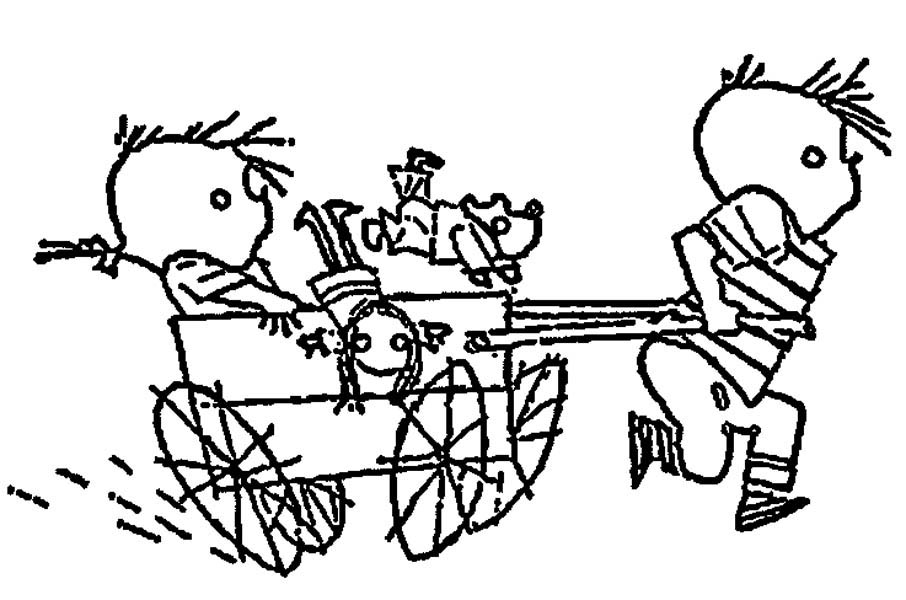 906x600 Horse And Carriage Coloring Page Princess