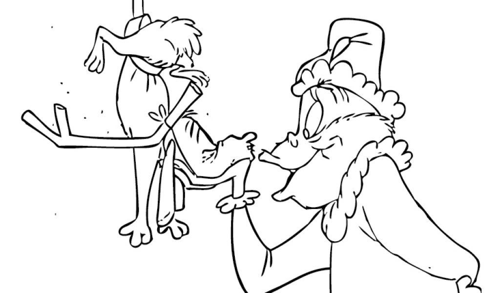 1024x600 How The Grinch Stole Christmas Coloring Pages Grinch Coloring