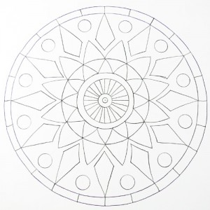 300x300 How To Draw A Mandala Using Grids