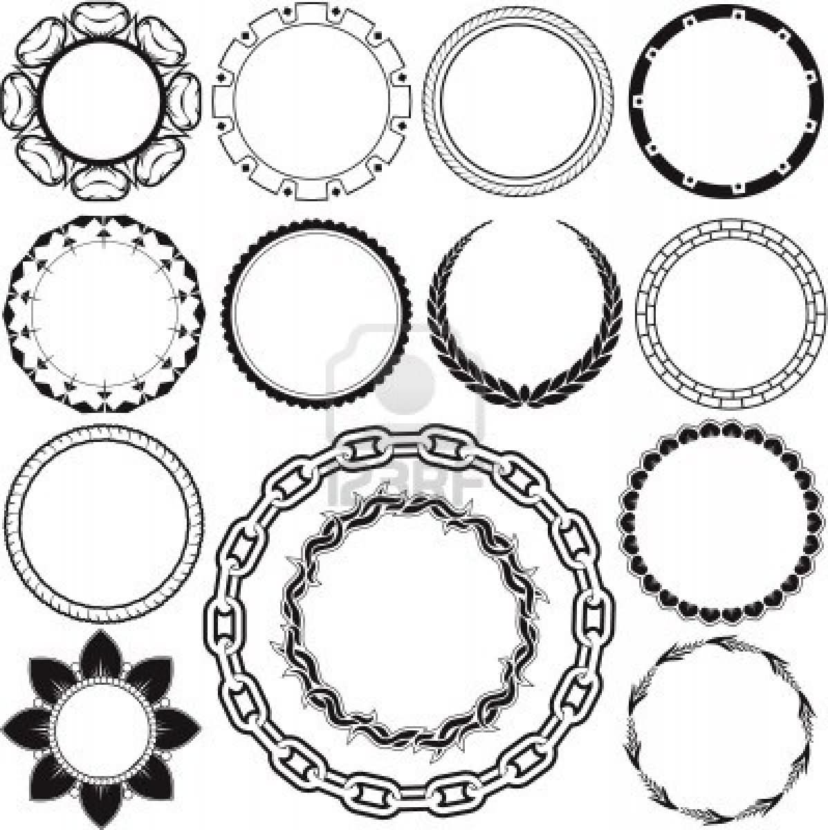 Circle Design Drawing