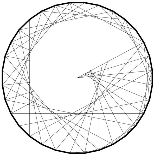 592x613 How To Create Concentric Circles, Ellipses, Cardioids Amp More Using