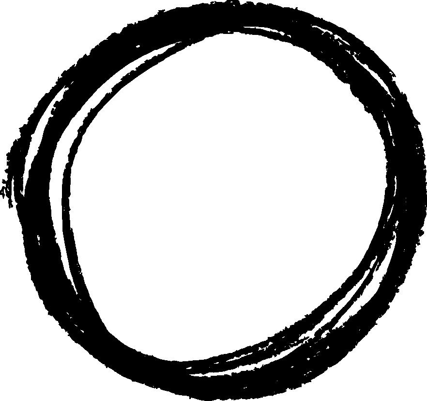 882x827 6 Circle Scribble Pencil (Png Transparent)