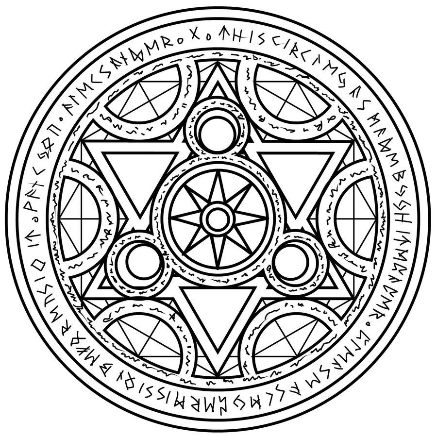 900x900 Magic Circle